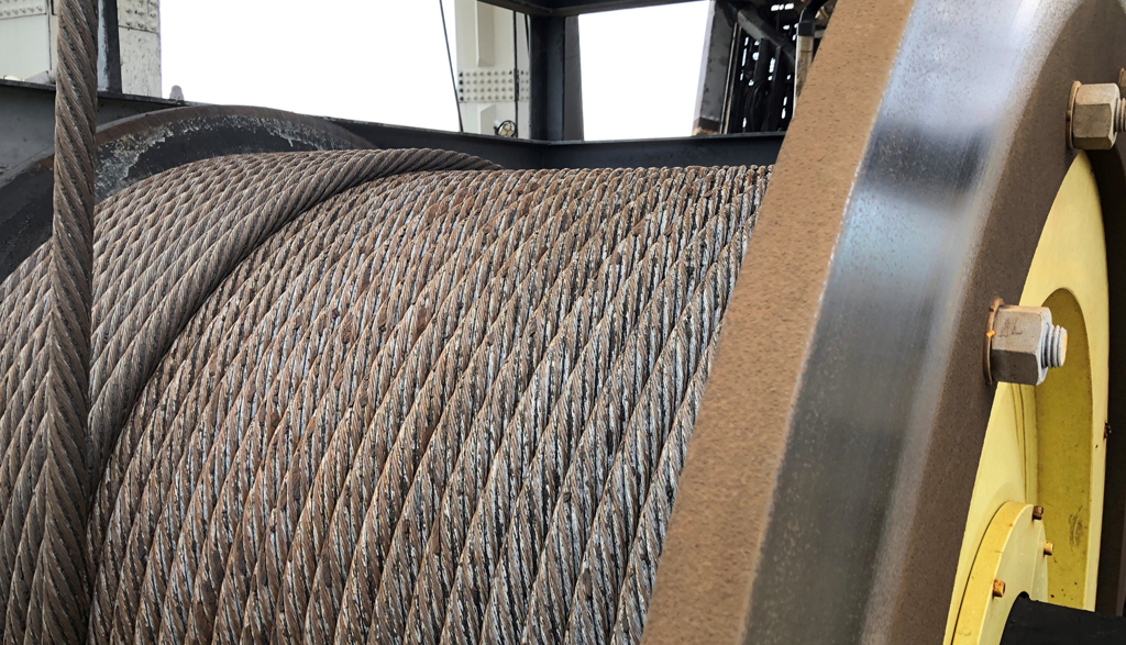 Aspec Engineering Integrity of Large Steel Wire Ropes